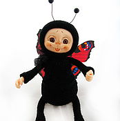 Куклы и игрушки ручной работы. Ярмарка Мастеров - ручная работа Бабочка. Handmade.