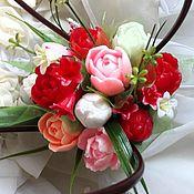 Мыльный букет Тюльпаны
