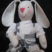 Куклы и игрушки ручной работы. Ярмарка Мастеров - ручная работа Зайчик-мальчик/Boy hare. Handmade.
