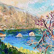 Картины и панно handmade. Livemaster - original item Pictures: Oil painting sketch Landscape