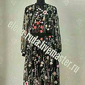 Одежда ручной работы. Ярмарка Мастеров - ручная работа Платье  в стиле Valentino.. Handmade.