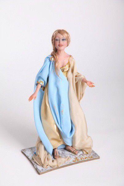 Коллекционные куклы ручной работы. Ярмарка Мастеров - ручная работа. Купить Анна. Handmade. Авторская кукла