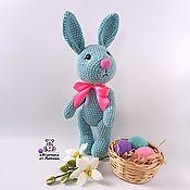 Куклы и игрушки handmade. Livemaster - original item Toy plush Bunny Trot knitted plush toy rabbit. Handmade.