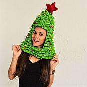 Подарки к праздникам handmade. Livemaster - original item Christmas tree hat. Handmade.