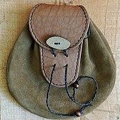 Субкультуры ручной работы. Ярмарка Мастеров - ручная работа сумка на пояс в средневековом стиле. Handmade.
