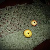 """Аксессуары ручной работы. Ярмарка Мастеров - ручная работа Шаль """"Аромат зеленого яблока"""". Handmade."""
