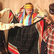 Одежда ручной работы. Ярмарка Мастеров - ручная работа Панева распашная богатая. Handmade.