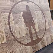 Статуэтка ручной работы. Ярмарка Мастеров - ручная работа Сувенирная торцевая доска. Handmade.