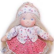 Куклы и игрушки ручной работы. Ярмарка Мастеров - ручная работа вальдорфская кукла Беляночка, 38 см.. Handmade.