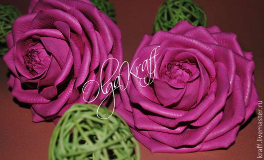 Цветы ручной работы. Ярмарка Мастеров - ручная работа. Купить Розы из фоамирана. Handmade. Брусничный, украшения ручной работы, подарок