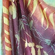 Аксессуары ручной работы. Ярмарка Мастеров - ручная работа Шелковый платок ручной работы Осенний вальс. Handmade.