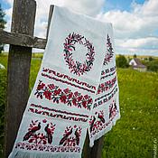 Русский стиль handmade. Livemaster - original item towel wedding. Handmade.