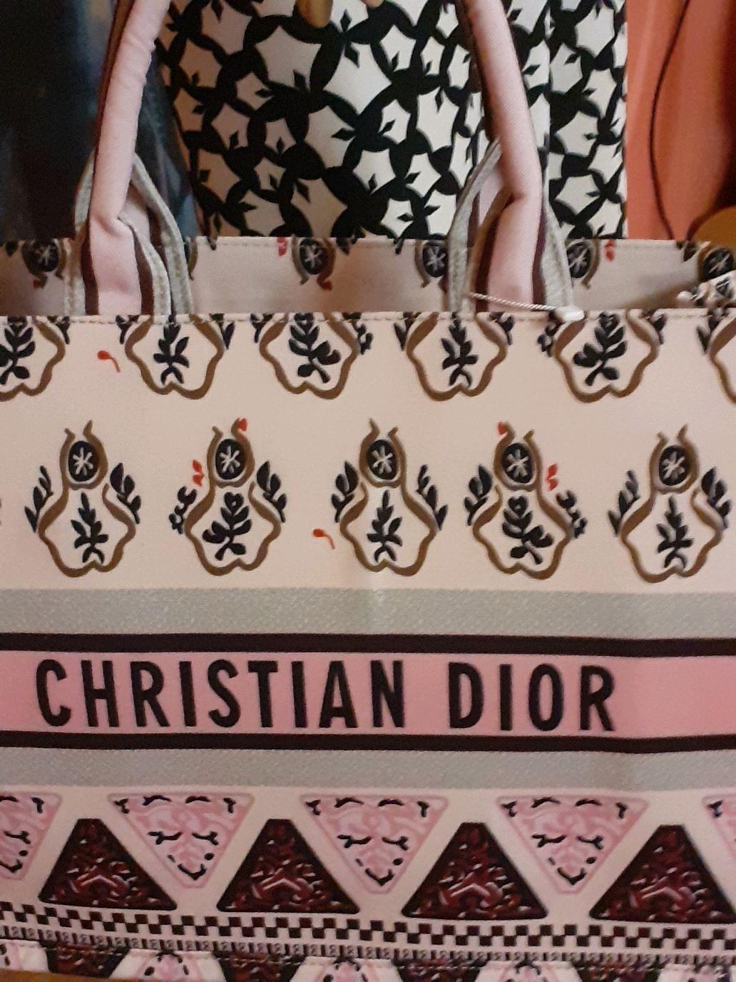 Crihstian Dior брендовая сумка весна, лето текстильная, женская, Классическая сумка, Москва,  Фото №1