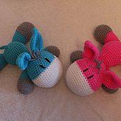 Куклы и игрушки ручной работы. Ярмарка Мастеров - ручная работа Ослики. Handmade.