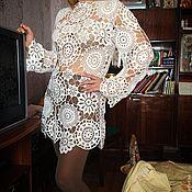 Одежда ручной работы. Ярмарка Мастеров - ручная работа Туника Звездная паутинка. Handmade.