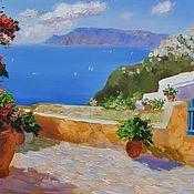 Картины и панно handmade. Livemaster - original item Sunny Greece. Handmade.