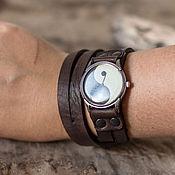 Кожаный браслет для часов своими руками 9