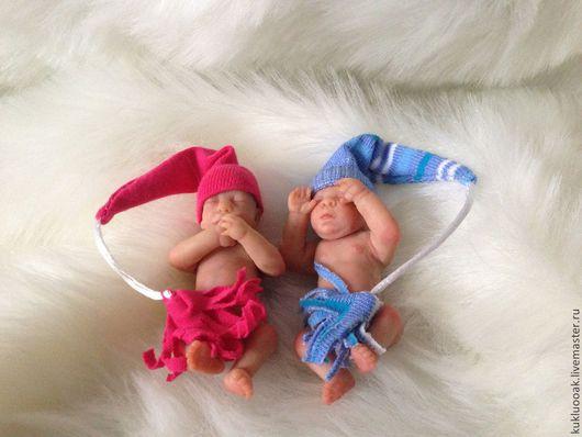 Куклы-младенцы и reborn ручной работы. Ярмарка Мастеров - ручная работа. Купить Алексадр и Александра 2. ООАК. Handmade. Бежевый