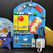 Куклы и игрушки ручной работы. Ярмарка Мастеров - ручная работа Мини Бизиборд №2. Handmade.