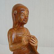 """Фен-шуй и эзотерика ручной работы. Ярмарка Мастеров - ручная работа Статуэтка из дерева ручной работы """"Будда"""". Handmade."""
