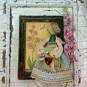 Куклы и игрушки ручной работы. Ярмарка Мастеров - ручная работа Утро в саду. Handmade.