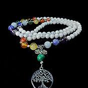 Фен-шуй и эзотерика handmade. Livemaster - original item Rosary on 7 Chakras with Kakholong. Handmade.