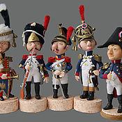 Куклы и игрушки ручной работы. Ярмарка Мастеров - ручная работа Гвардия Наполеона. Handmade.