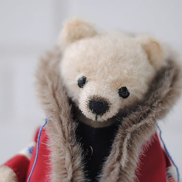 Куклы и игрушки ручной работы. Ярмарка Мастеров - ручная работа Медведь тедди Вилли. Handmade.