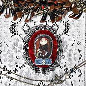 """Украшения ручной работы. Ярмарка Мастеров - ручная работа Брошь  """"Королевская"""". Handmade."""