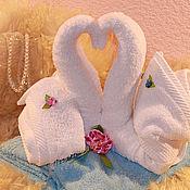 Подарки к праздникам ручной работы. Ярмарка Мастеров - ручная работа Торт из полотенец. Handmade.