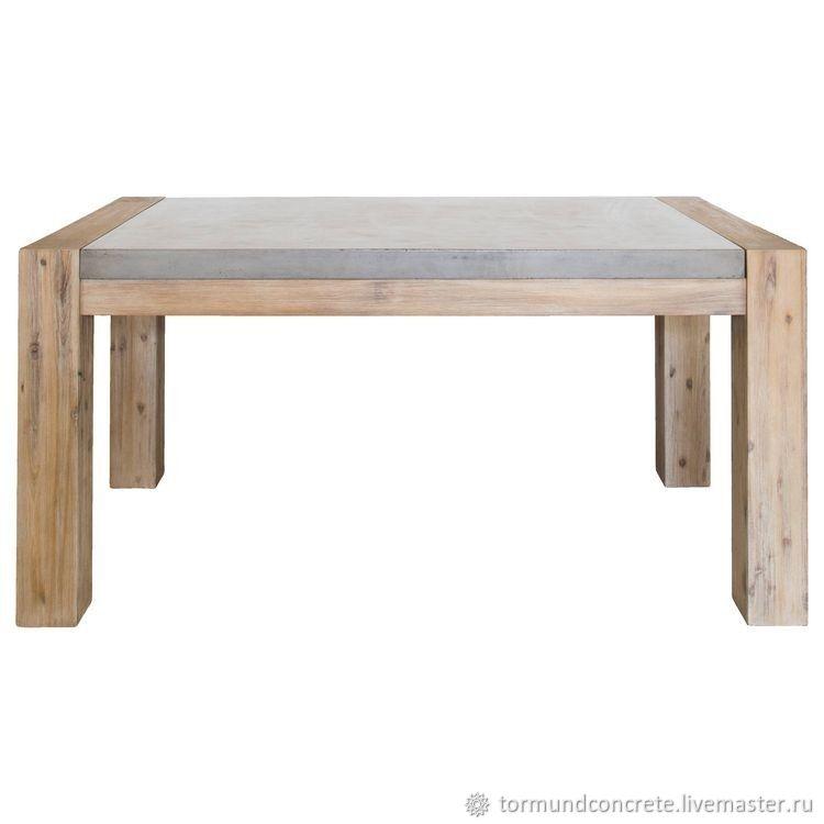 Столы из бетона на заказ виды пористых бетонов