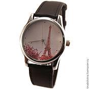 Украшения ручной работы. Ярмарка Мастеров - ручная работа Дизайнерские наручные часы Париж Весной. Handmade.