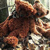Мягкие игрушки ручной работы. Ярмарка Мастеров - ручная работа Медведь Арчи, 43 см. Handmade.