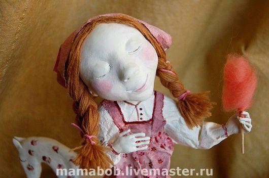 Коллекционные куклы ручной работы. Ярмарка Мастеров - ручная работа. Купить И пусть весь мир подождёт!. Handmade. Шерсть, бумага
