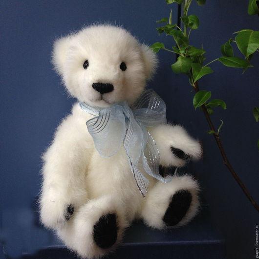 Мишки Тедди ручной работы. Ярмарка Мастеров - ручная работа. Купить Сэм. Handmade. Белый, мишка тедди, медвежонок тедди