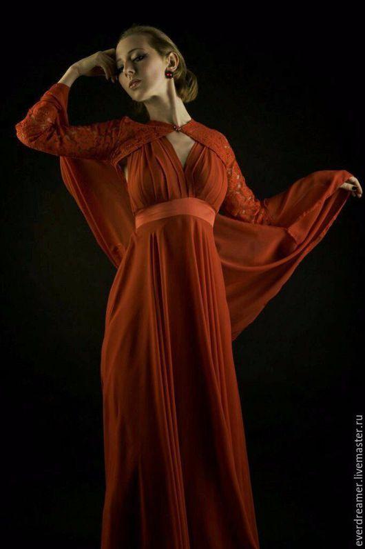 Платья ручной работы. Ярмарка Мастеров - ручная работа. Купить Платье RosenRed. Handmade. Страстное платье, платье для выпускного