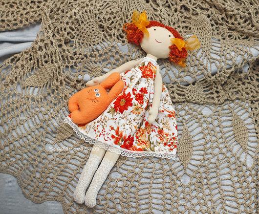 Коллекционные куклы ручной работы. Ярмарка Мастеров - ручная работа. Купить Кукла рыжая Ольга. Handmade. Рыжий