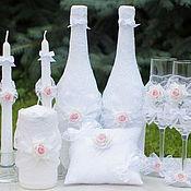 Свадебный салон handmade. Livemaster - original item Set of wedding accessories. Handmade.