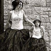 """Одежда ручной работы. Ярмарка Мастеров - ручная работа """"Пара-Нормальные"""" юбки-пачки для мамы и дочки.. Handmade."""