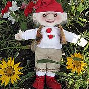 Куклы и игрушки ручной работы. Ярмарка Мастеров - ручная работа гномик Четверг. Handmade.