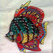 Для дома и интерьера ручной работы. Ярмарка Мастеров - ручная работа Экзотичная рыбка. Handmade.