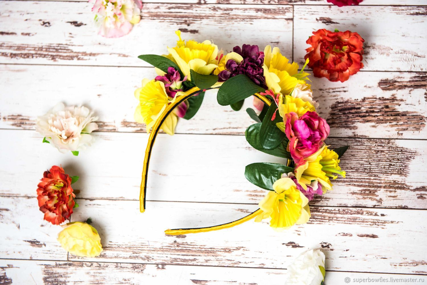 A wreath of Bright summer, Tiaras, Moscow,  Фото №1