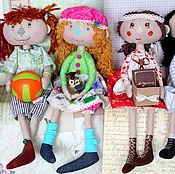 Тематическая текстильная интерьерная кукла