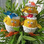 Подарки к праздникам ручной работы. Ярмарка Мастеров - ручная работа Цыплята вылупились. Handmade.