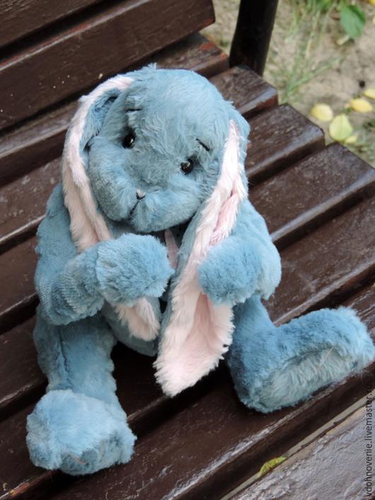 Мишки Тедди ручной работы. Ярмарка Мастеров - ручная работа. Купить Кроля Незабудкин. Handmade. Голубой, друзья тедди