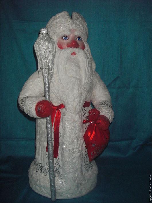 Сказочные персонажи ручной работы. Ярмарка Мастеров - ручная работа. Купить Дед мороз. Handmade. Белый, сказочный персонаж
