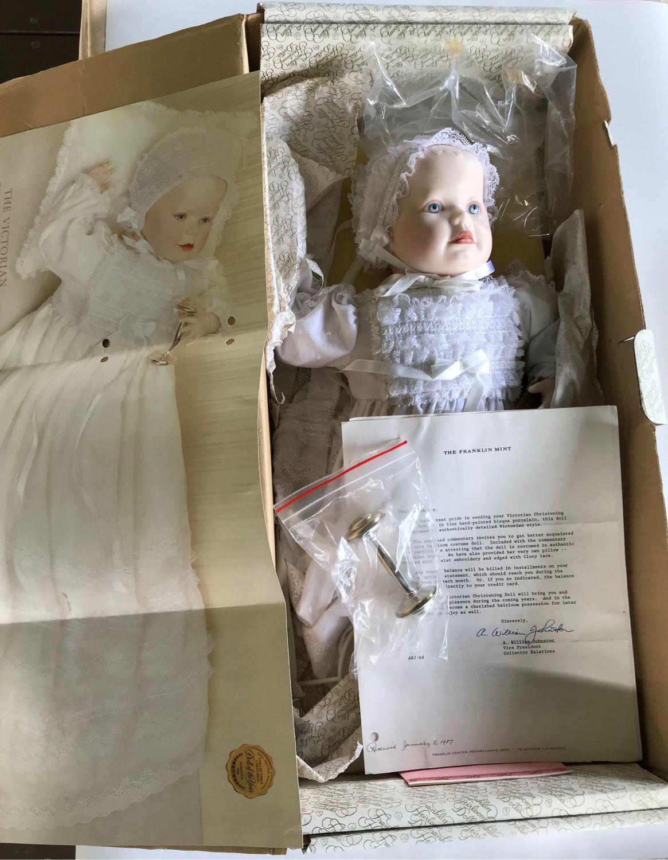 Винтаж: Винтажная кукла Franklin Минт, фамильные куклы-крещение, Куклы винтажные, Уфа,  Фото №1