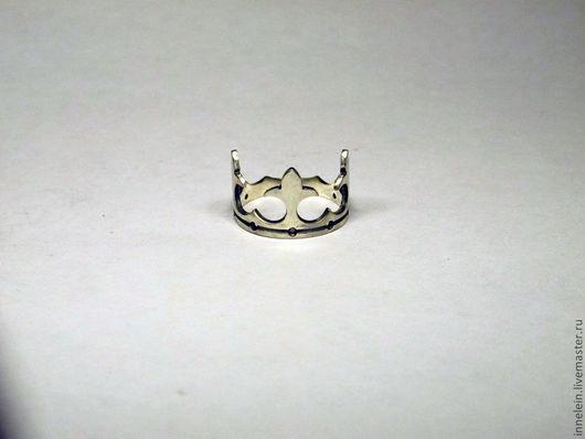 """Кольца ручной работы. Ярмарка Мастеров - ручная работа. Купить Серебряное кольцо """"Корона 2"""". Handmade. Серебряный, кольцо корона"""