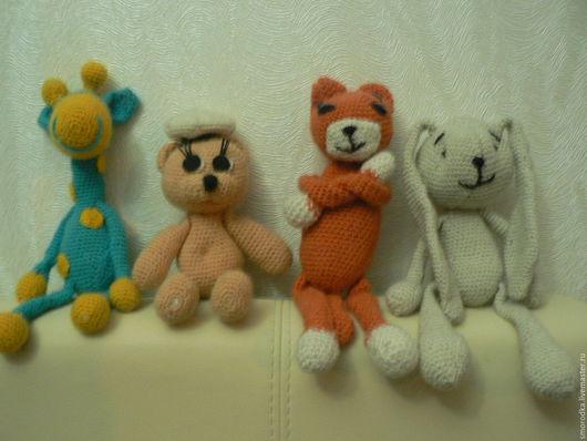 Игрушки животные, ручной работы. Ярмарка Мастеров - ручная работа. Купить Мягкие игрушки. Handmade. Игрушка из шерсти, игрушка в подарок
