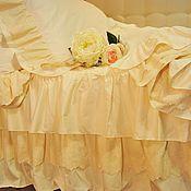 Подарки ручной работы. Ярмарка Мастеров - ручная работа Комплект постельного в стиле шебби шик 2. Подарок на свадьбу. Handmade.